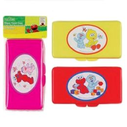 72 Units of Sesame Street Baby Wipe Case - Baby Accessories