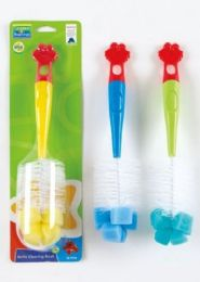 72 Units of Sesame Beginnings Bottle Brush - Baby Accessories