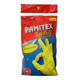 144 Units of Pamitex Gloves Bag Large - Cleaning Products