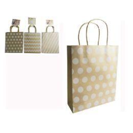 "96 Units of Kraft Bag 4pc 10.4x3.15x8.66"" - Bags Of All Types"