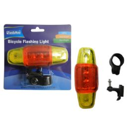 96 Units of 5 Led Bike Flashing Light - Biking
