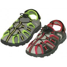 24 Units of Youth's Hiker Sport Sandals - Boys Flip Flops & Sandals