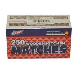 96 Units of 2pk Matches 250ct - BBQ supplies