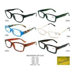 48 Units of GLASSES UNISEX ASST STYLES - Reading Glasses