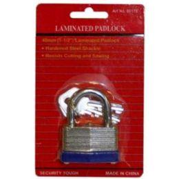 96 Units of 40mm Laminated Lock - Padlocks and Combination Locks