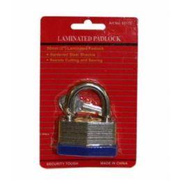 72 Units of 50mm Laminated Lock - Padlocks and Combination Locks