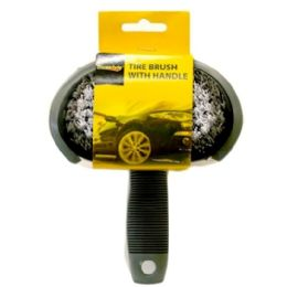 96 Units of TIRE BRUSH WITH HANDLE - Brushes