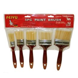96 Units of 5PC PAINT BRUSH - Paint and Supplies
