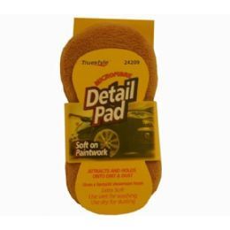 96 Units of Truestyle Microfiber Detail Pad - Auto Cleaning Supplies