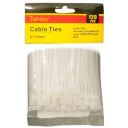 144 Units of 75 PCS 8IN CABLE TIES - Wires