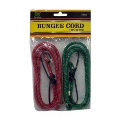 96 Units of 2PC 42IN BUNGEE CORD - Rope and Twine