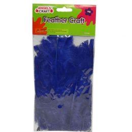 360 Units of FEATHERS ROYAL BLUE 11G - Craft Glue & Glitter