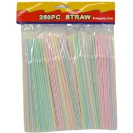 144 Units of 250pc Straws - Straws and Stirrers