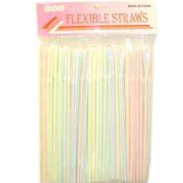 144 Units of 200pc Straw - Straws and Stirrers