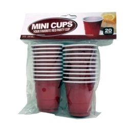 96 Units of 20CT MINI CUP - Disposable Cups