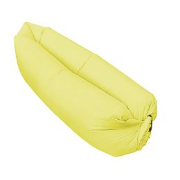 6 Units of Yellow Inflatable Bed - Inflatables