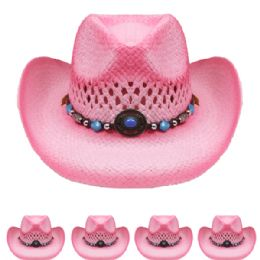 24 Units of Kids Cowboy Hat - Cowboy & Boonie Hat