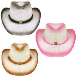 24 Units of Kids Assorted Western Cowboy Hat - Cowboy & Boonie Hat