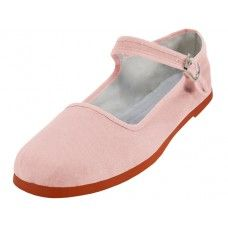 36 Units of Women's Classic Cotton Mary Jane Shoes ( Pink Color Only) - Women's Flats