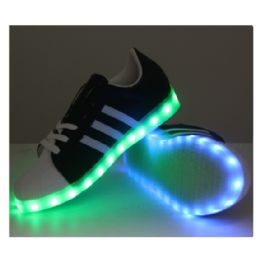 18 Units of LED SHOES KIDS MIX SIZE ( 18 PAIRS ) - Boys Shoes