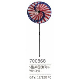 120 Units of Garden Windmill Stake - Garden Decor