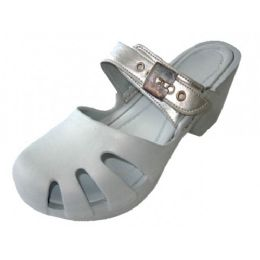 18 Units of Girls' Wedge Sandals (silver Color Only) - Girls Sandals