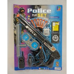24 Units of Police Play Set - Action Figures & Robots