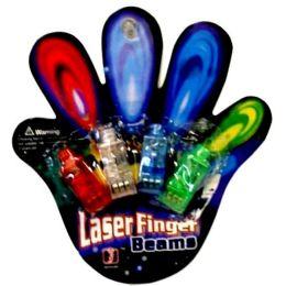 480 Units of 4pc Led Finger Ring - Rings