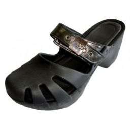 18 Units of Women Wedge Sandals(Black Color Only)