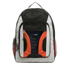"20 Units of 16.5 inch Mid-Size Cool Backpack For Kids, Bulk Case of Orange - Backpacks 16"""