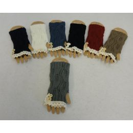 48 Units of Knitted Hand Warmers [antique LacE-2 Buttons] - Arm & Leg Warmers