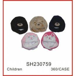 72 Units of Kids Animal Hat - Junior / Kids Winter Hats