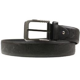 36 Units of Mens Black Belt - Mens Belts