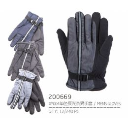96 Units of Assorted Color Winter Gloves - Knitted Stretch Gloves