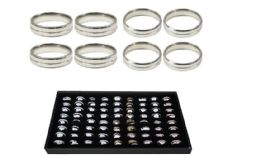 144 Units of Ring 009 Ab Stainless Steel - Rings