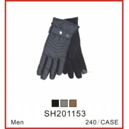 48 Units of Men's Touch Glove - Conductive Texting Gloves