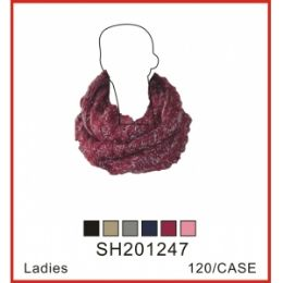 72 Units of Assorted Color Scarf - Womens Fashion Scarves