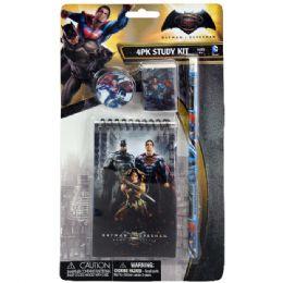 48 Units of Batman v Superman Stationery Set - School Supply Kits