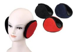 72 Units of Adult Assorted Color Earmuffs - Ear Warmers