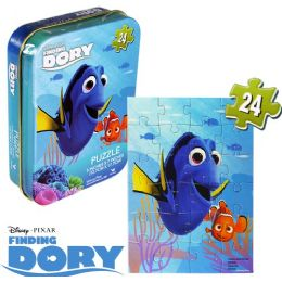 36 Units of Disney's Finding Dory Mini Jigsaw Puzzle Tins - Puzzles