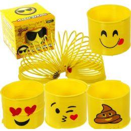 96 Units of Emoji Magic Springs - Toy Sets