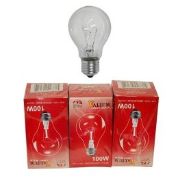 80 Units of 3pc Clear Light Bulbs 100w - Lightbulbs