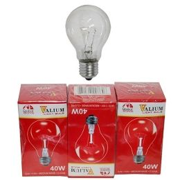 80 Units of 3pc Clear Light Bulbs 40w - Lightbulbs