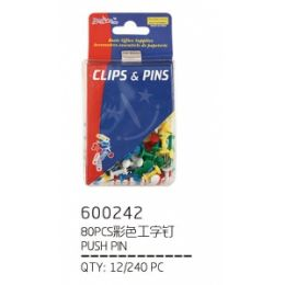 120 Units of Clips And Pins - Clips and Fasteners