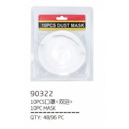 96 Units of 10 PIECE DUST MASK - Hardware Shop Equipment