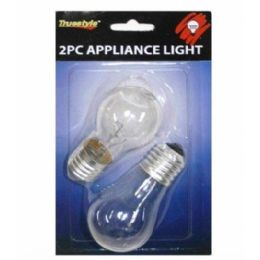 96 Units of 2PC 40 WATT APPLIANCE LIGHT BULBS - Lightbulbs