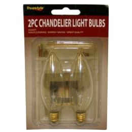 96 Units of 2PC CHANDELIER LIGHT BULBS NARROW BASE - Lightbulbs