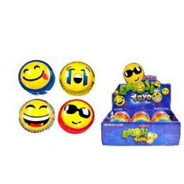 72 Units of Smiley Face Magic Yo yo - Toy Sets