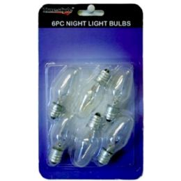 96 Units of 6pc 4 Watt Night Light Bulbs - Lightbulbs