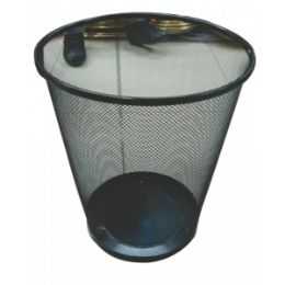 20 Units of Metal Trash Can - Waste Basket